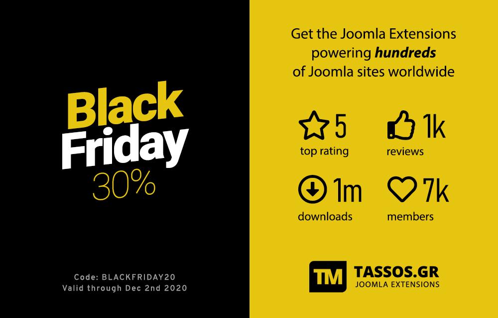 joomla black friday 2020