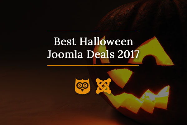 Best Halloween Joomla Deals 2017 - Discounts & Coupons
