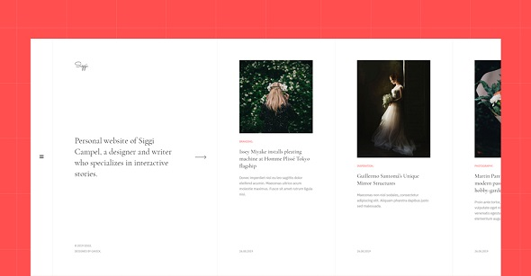 personal blog joomla template