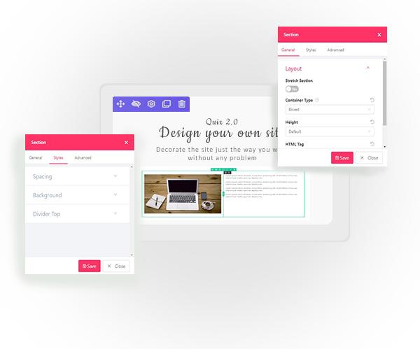 Quix: A Visual Smart Joomla Page Builder
