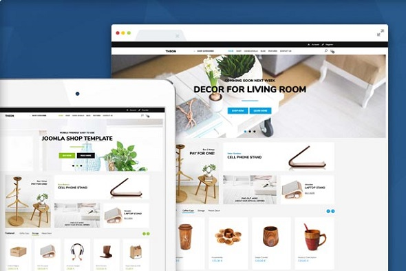 theon shop Joomla template